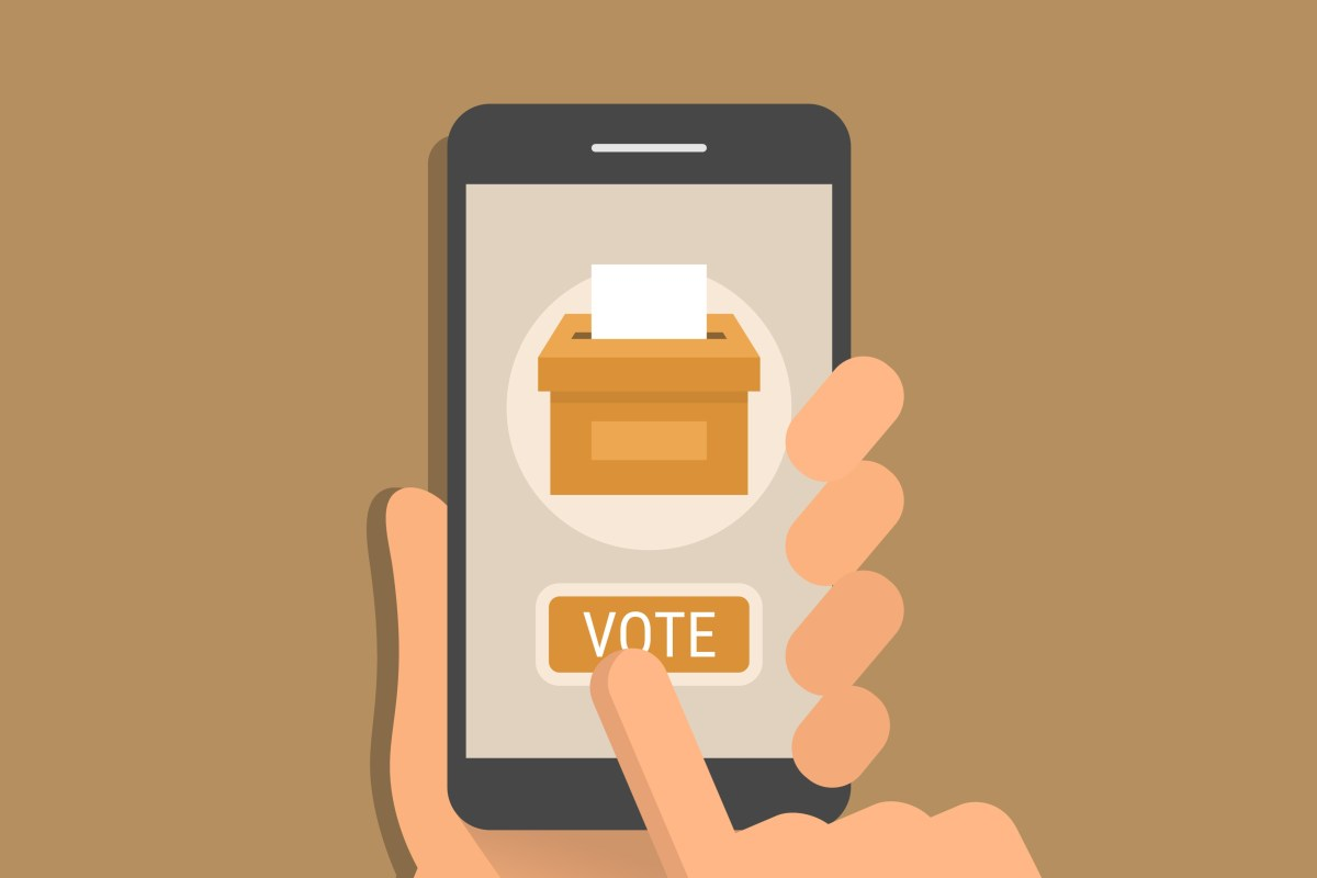smartphone apps elections