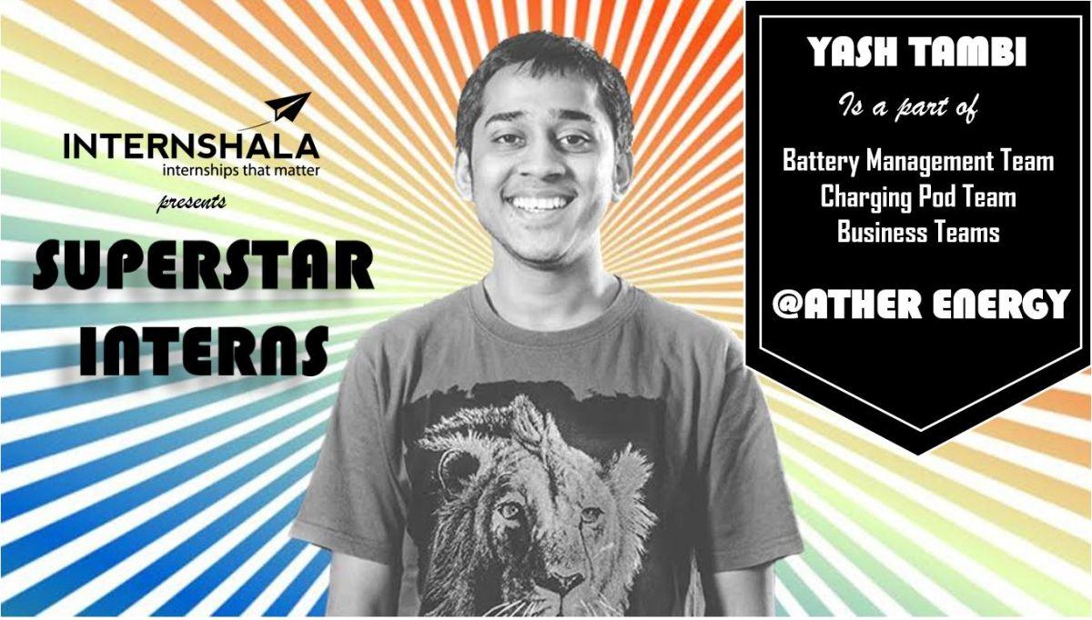 intern ather energy Yash Tambi