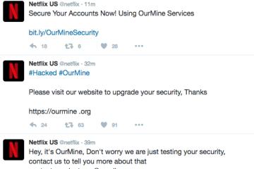 ourmine hacks netflix
