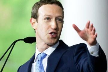 Mark Zuckerberg sell shares