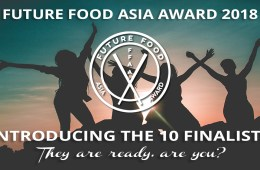 Future Food Asia Awards 2018 Finalists