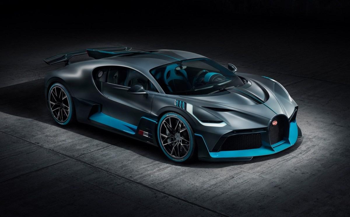 Bugatti Divo launch