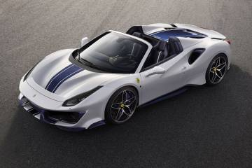 Ferrari 488 Pista Spider launch