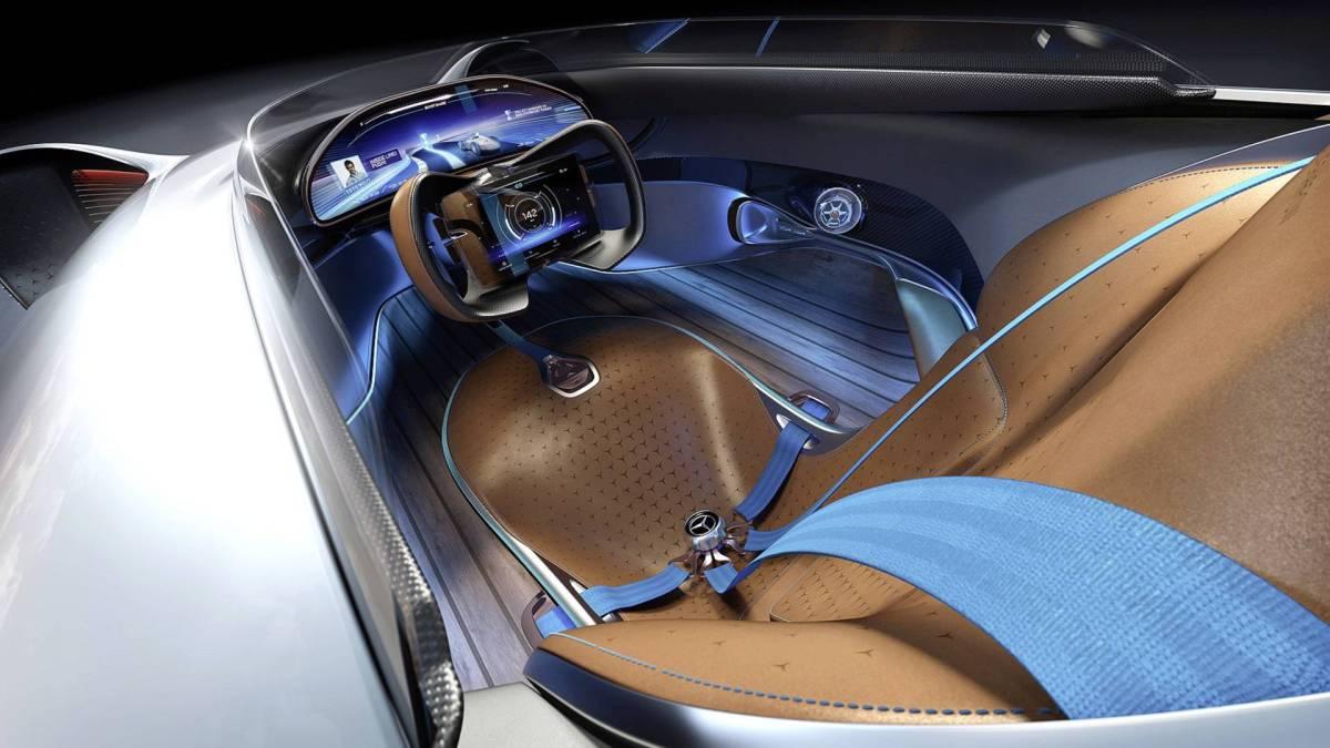 Mercedes EQ Silver Arrow cabin