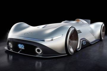 Mercedes EQ Silver Arrow range