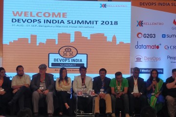 DevOps India Summit - Speakers at the panel discussion