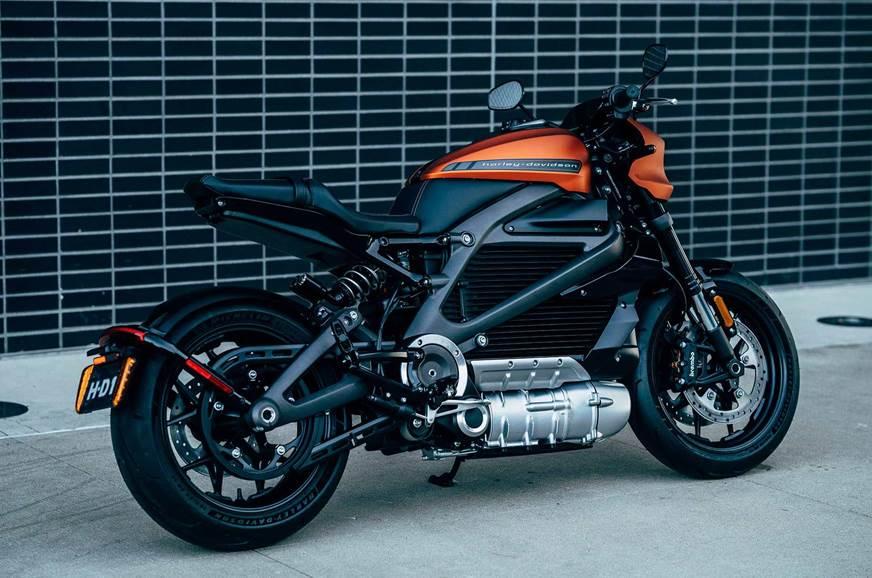 Harley-Davidson LiveWire rear
