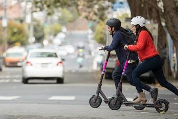 Lyft scooter service