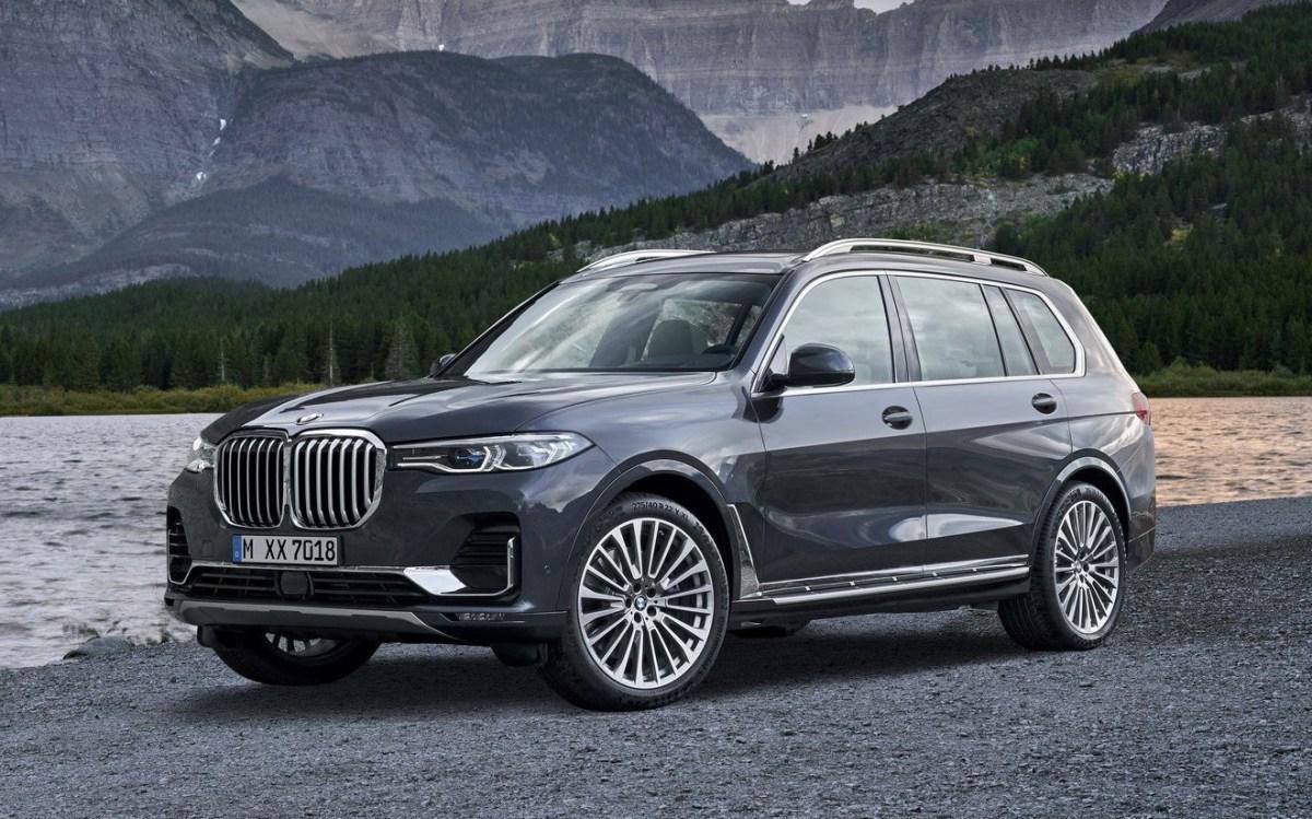 BMW X7 launch