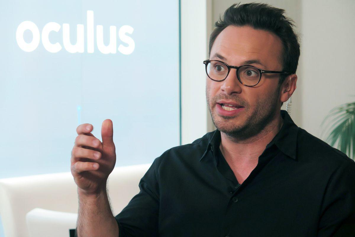 Former Oculus CEO Brendan Iribe is leaving Facebook