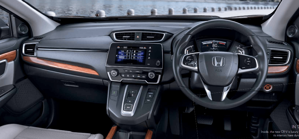 Honda CR V India interior