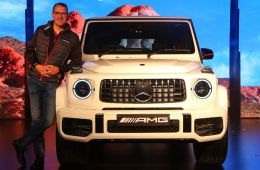 Mercedes-AMG G63 India launch