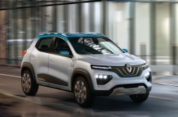 Renault K-ZE electric car concept