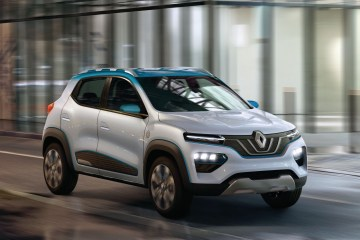 Renault K-ZE electric car concept