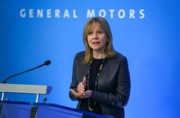 GM Plants close CEO Mary Barra