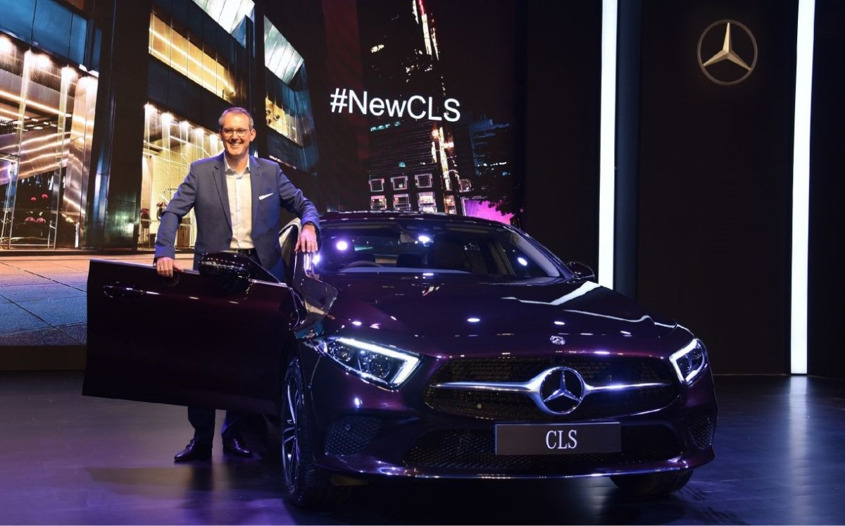 Mercedes-Benz CLS India launch