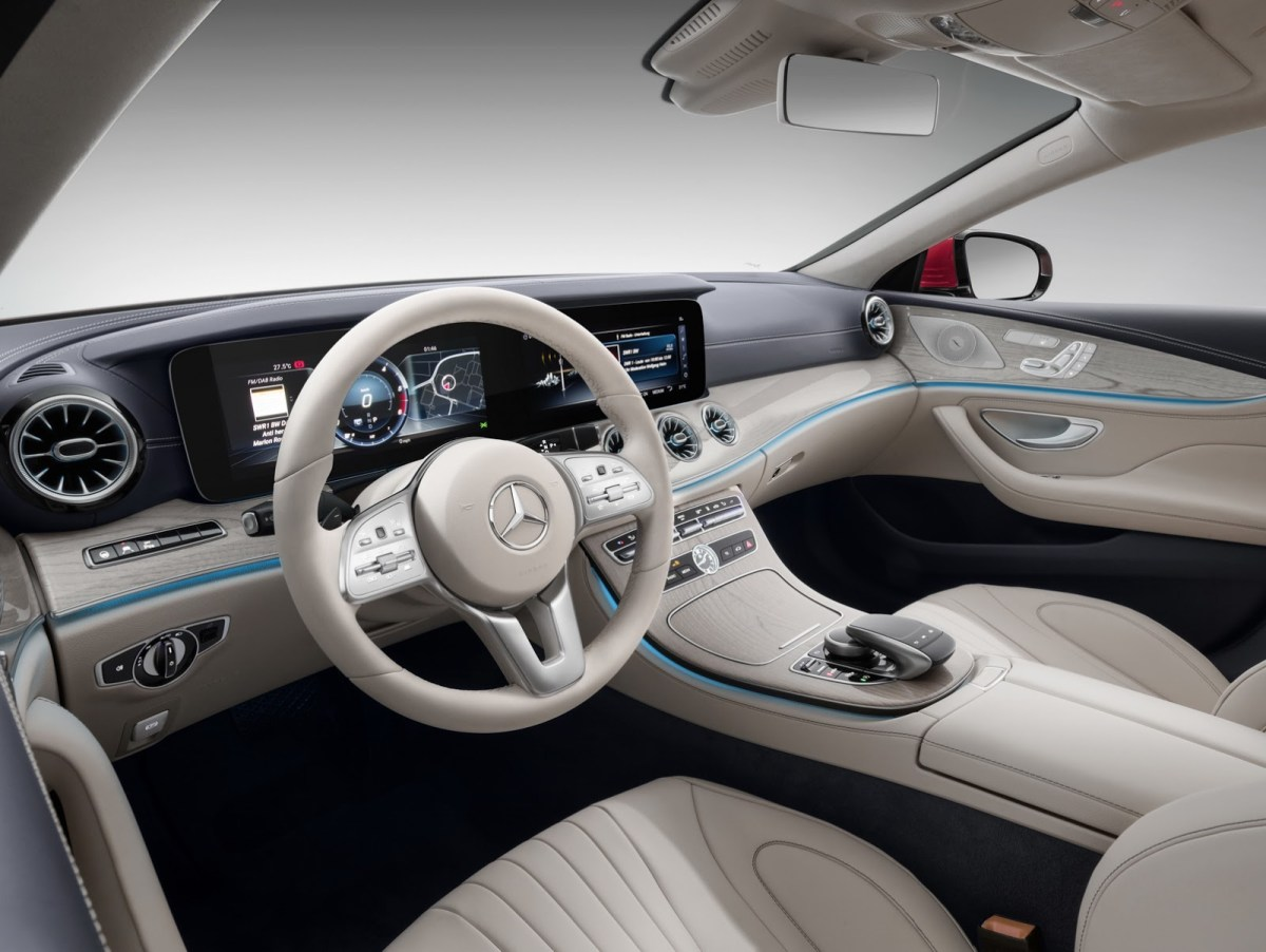 Mercedes Benz new CLS india interior