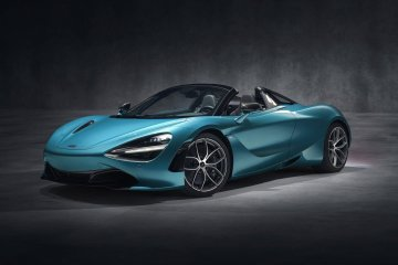 McLaren 720S Spider launch
