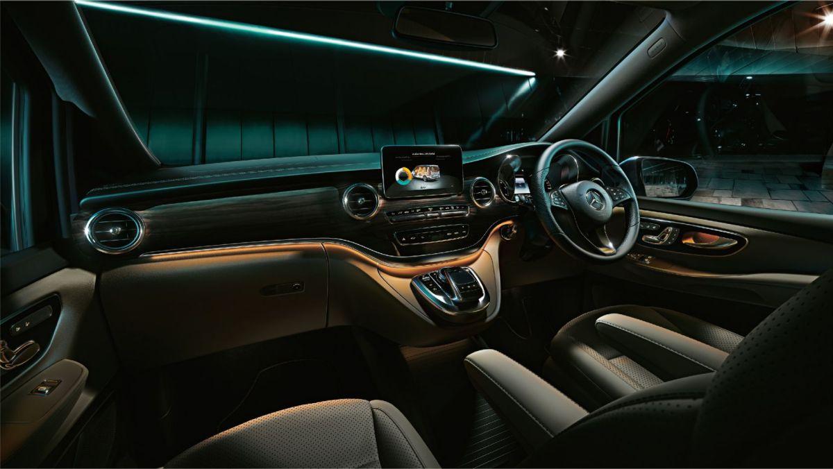 Mercedes Benz V Class India interior