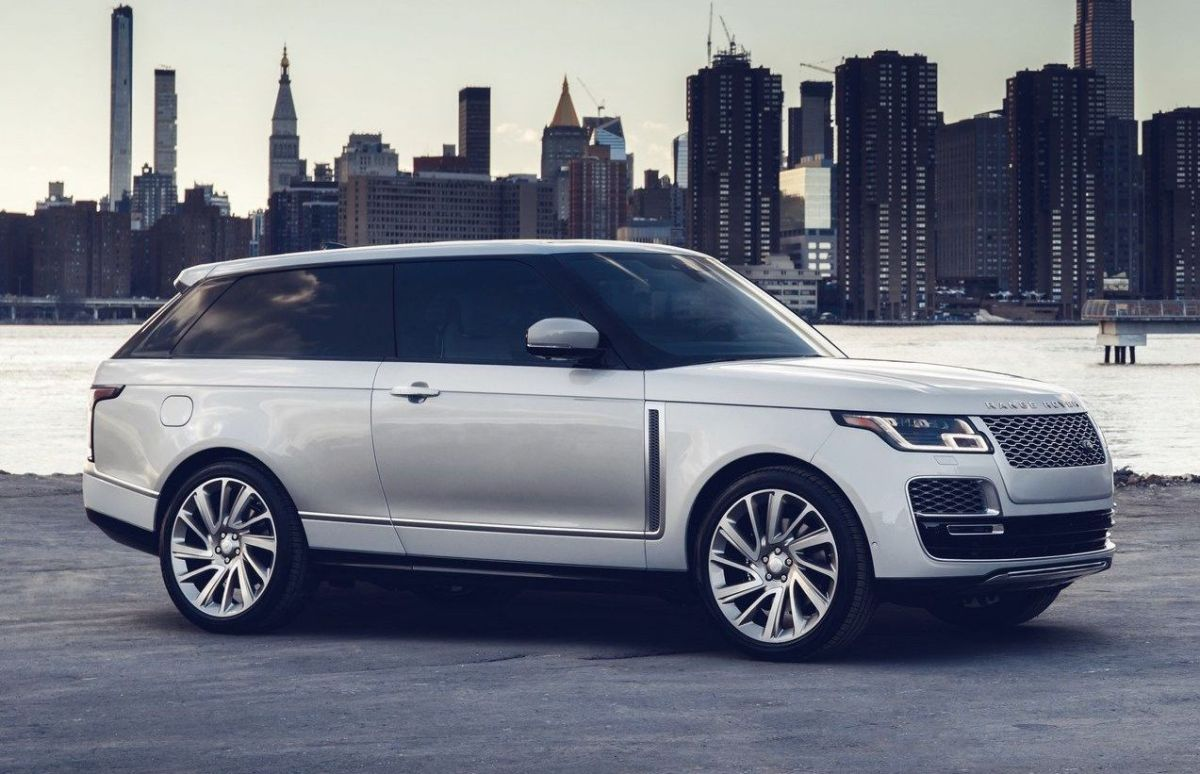 Range Rover SV Coupe production