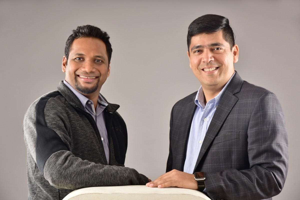 (L-R) founder Rahul Sasi and CEO Sourabh Issar, CloudSEK