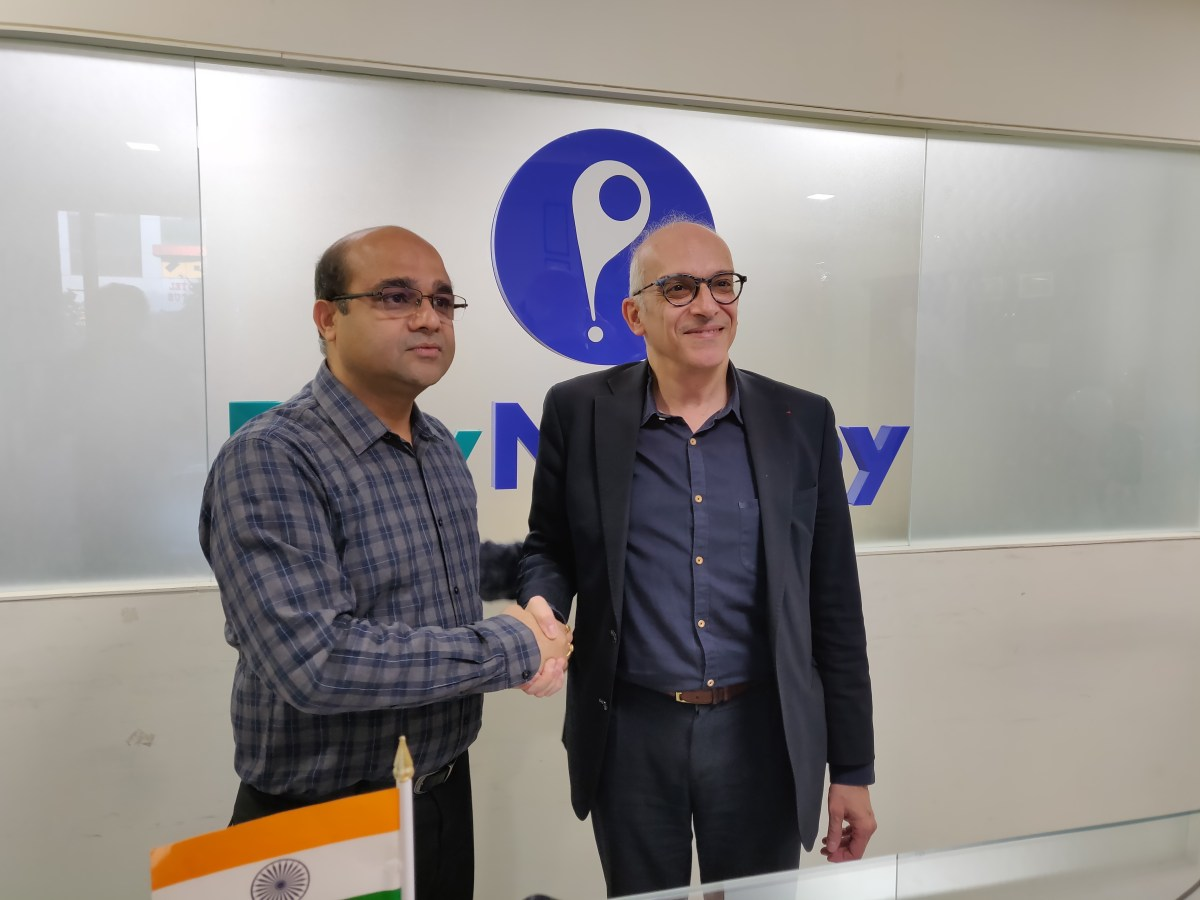 Mr. Anand Kumar Bajaj, Founder of PayNearby, and Yazid Chir President of Be-Bound`