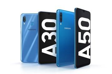 Samsung Galaxy A30 Galaxy A50