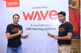Left to Right Pulkit Jain, Co-Founder and Head Product, Vedantu & Vamsi Krishna, CEO & Co-Founder, Vedantu
