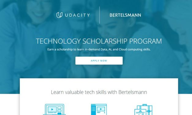 1600  Online Nanodegree  Scholarship  at Udacity