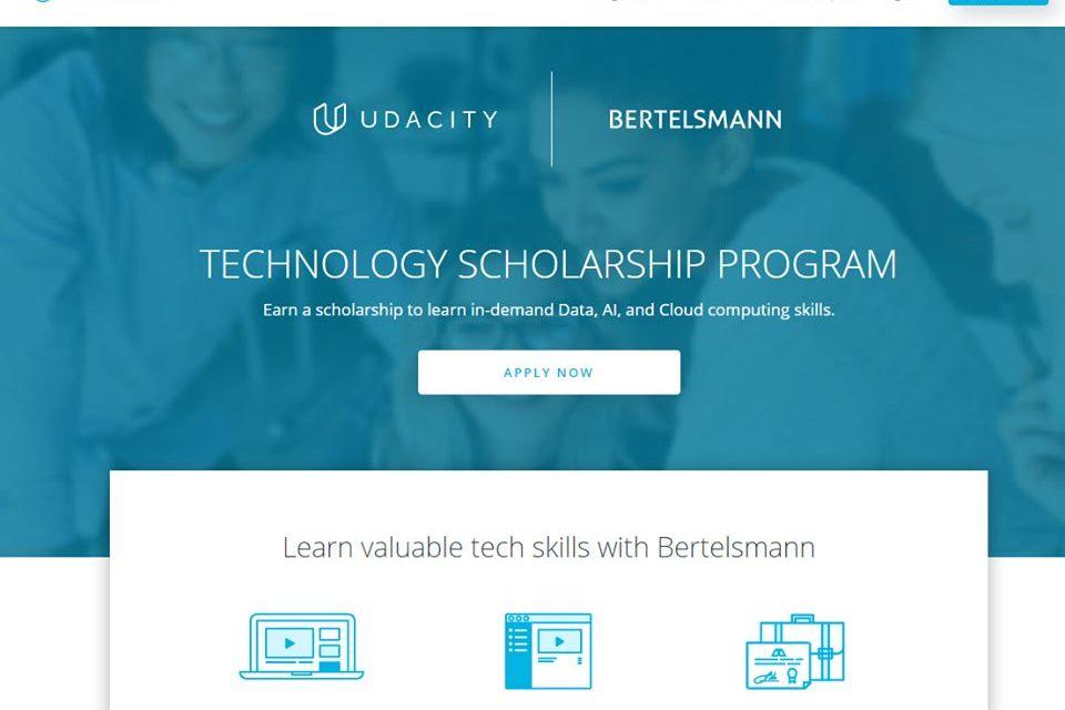 1600 Online Nanodegree Scholarship at Udacity 2021