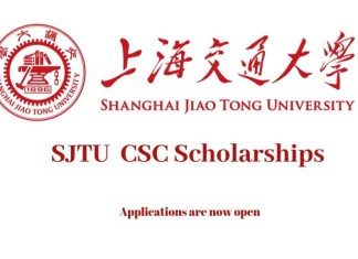 SJTU CSC Scholarships