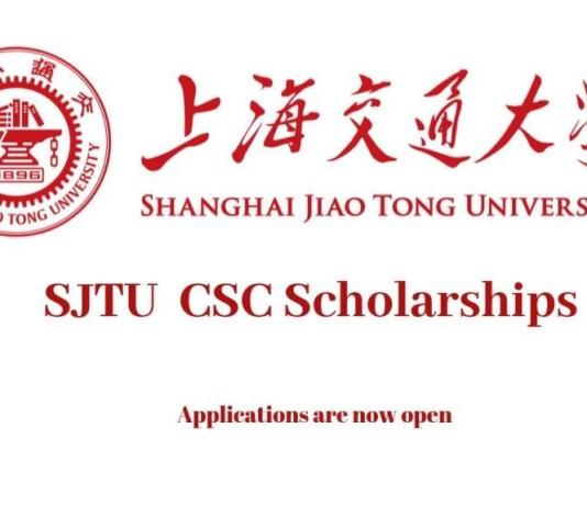 SJTU CSC Scholarships