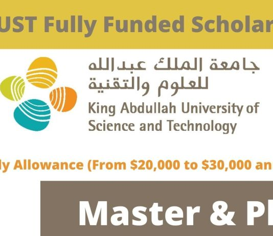 Fully Funded Scholarships King Abdullah University of Science and Technology
