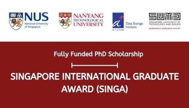Singapore International Graduate Award 2022 for PhD Students, Singapore