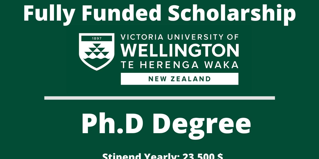 Victoria University of Wellington Doctoral Scholarship , New Zealand