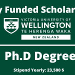 Victoria University of Wellington Doctoral Scholarship , New Zealand