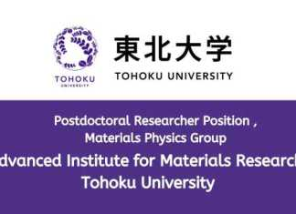 Material Science Postdoctoral Position