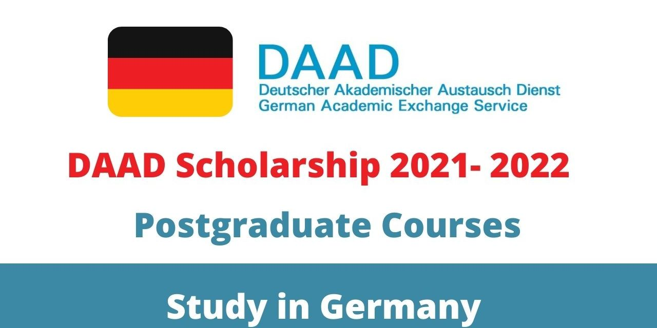 Fully Funded DAAD Scholarship 2021-2022 in Germany