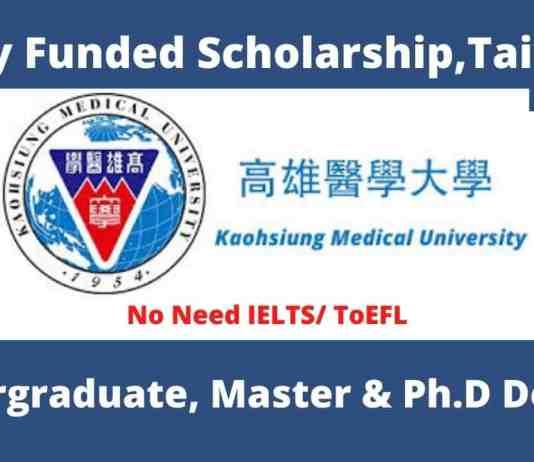 Kaohsiung Medical University Scholarship
