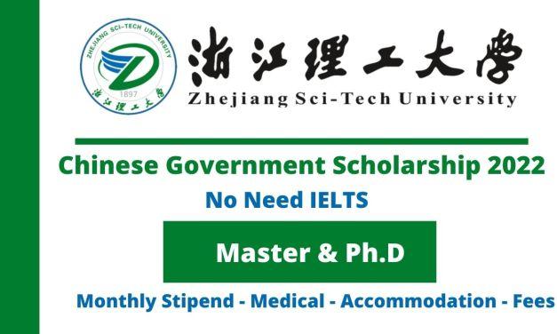 Zhejiang Sci-Tech University CSC Scholarship 2022   Study in China