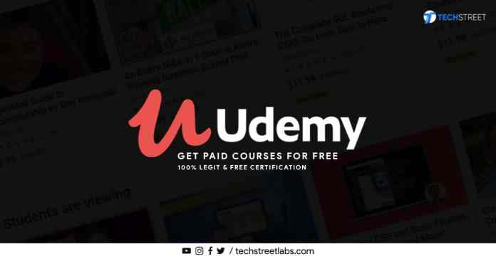 Get udemy paid courses for free - 100% legit and free certification