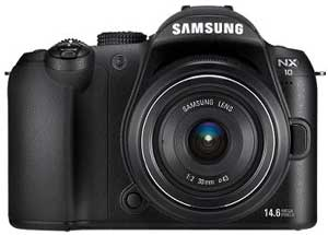 Samsung-NX10-digital-camera-front