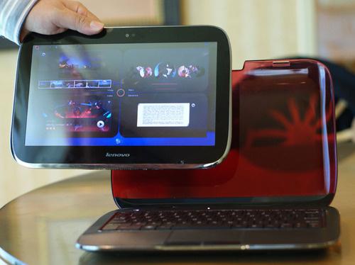 Lenovo IdeaPad U1 tablet computer / hybrid computer