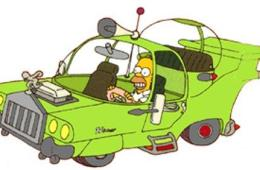 The Homer, a car designed by Homer Simpson