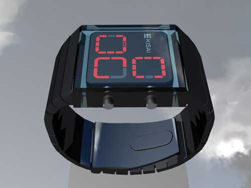 Tokyoflash Zonal watch concept design