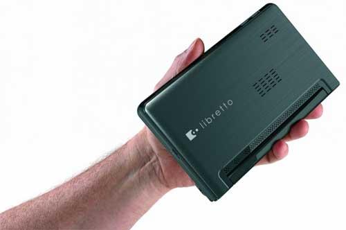 Toshiba libretto W100 touchscreen computer