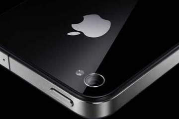 Apple iPhone 4 close up