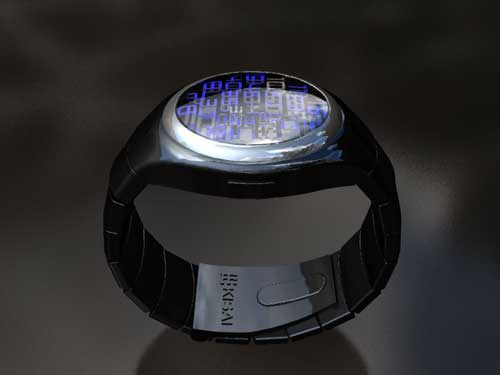 Tokyoflash Space Digit watch