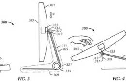 Apple iMac Touch computer, patent application