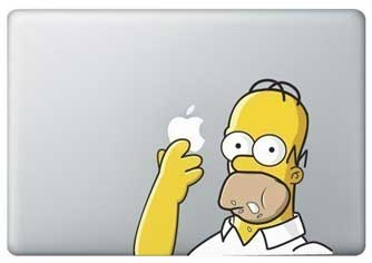 MacBook decal, MacBook Pro decal, personalise your Mac